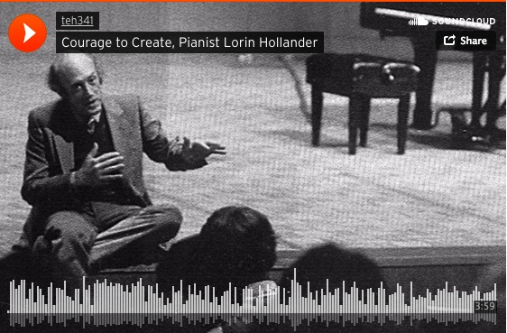 Courage to Create Interview Pianist Lorin Hollander