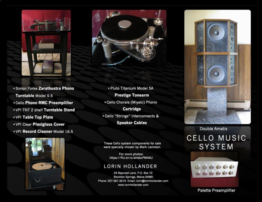 Cello Amati Tri-fold Brochure